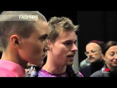 JULIAN ZIGERLI Backstage Autumn Winter 2014 2015 Menswear Milan HDby Fashion Channel http://www.youtube.com/watch?v=s8CIxmzmAVI #FashionChannel