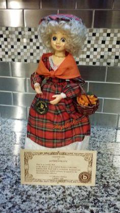 1988 Brinn's Miss September Porcelain Doll by RobsVintageTreasures