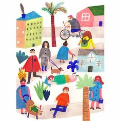 Maker's Magazine editorial #illustration #drawing #editorial #magazine #illustrator #art #design #simple #handmade #food #family #graphic #artwork #print #instaart #instaartist  #2d #kids  #graphicdesign #artist #artsy #fun #creative #morning #colors #colorful #people #sleep #fun #joy @makersmovement
