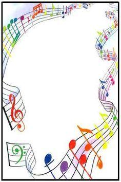 Résultat d'images pour free clip art musical borders transparent Page Borders Design, Border Design, Borders For Paper, Borders And Frames, Music Border, School Frame, Music Crafts, Paper Frames, Note Paper