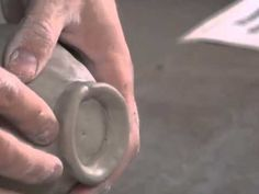 Neil Patterson Pinch Pot Project. I like how he teaches