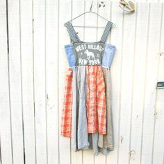 xsmall  large  / New York / Upcycled clothing / Funky by CreoleSha, $87.99