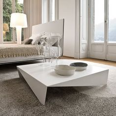 Voila Coffee Table White now featured on Fab.