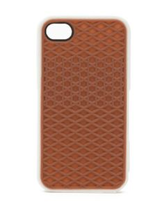 Vans Brown Black Silicone Waffle Shoe Case Cover | BEST ELECTRONIC ACCESSORIES
