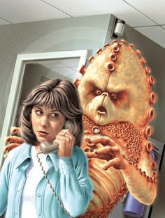 'Doctor Who - The DVD Files' - #45 - 'Terror of the Zygons.' - I drew this in Photoshop from layouts by Lee Sullivan.