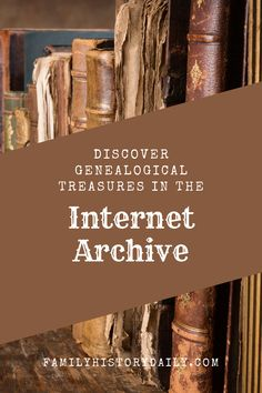 One of the leaders in digitizing the world's archives and providing free access to the resulting library is Internet Archive. Discover incredible genealogy resources online and for free! Free Genealogy Sites, Genealogy Research, Family Genealogy, Family Tree Chart, Heritage Scrapbooking, Writers Notebook, Family Roots, Tree Roots, Reunions