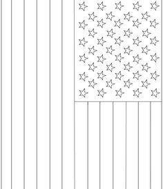 Printable American Flag Coloring Page Free American Flag