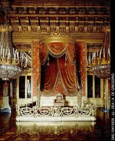 The Throne Room, Royal Palace UNESCO World Heritage , Turin. Italy, 16th century.