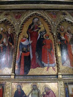 Maestro di San Martino a Mensola - Polittico, dettaglio - 1391 - Chiesa di San Martino a Mensola, Firenze