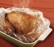 This is the easiest recipe. Even beginners will have success. Gives me time to focus on other foods for the holiday. recipe in bag Herb Roasted Turkey & Gravy Herb Roasted Turkey, Baked Turkey, Moist Turkey, Easy Thanksgiving Recipes, Thanksgiving Turkey, Christmas Recipes, Holiday Recipes, Holiday Meals, Holiday Dinner