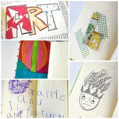 The Brashear Kids: Art Journal DIY