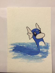A personal favorite from my Etsy shop https://www.etsy.com/listing/260073571/pokemon-dratini