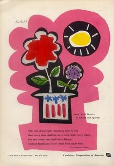 Container Corporation America Ad, 1959