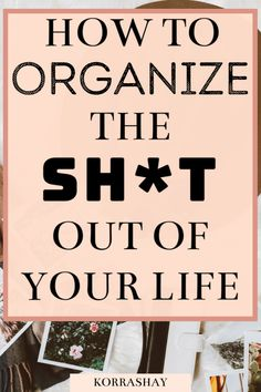 Under Bed Organization, Linen Closet Organization, Planner Organization, Diy Organisation, Clutter Organization, Organizing Ideas, Get My Life Together, Declutter Your Life, Life Planner