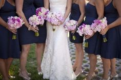 Help with Wedding Colors! Champage Theme :  wedding august 2013 champagne theme colors wedding party Navy Pink