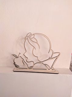 Snow White Poison Apple, Laser Cutter Ideas, Cad File, 3d Puzzles, Vector File, Autocad, Laser Cutting, Place Card Holders, Angel