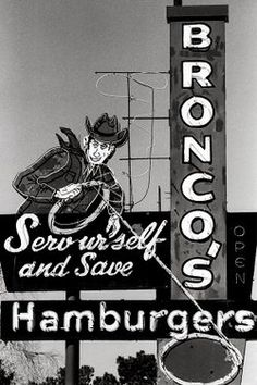 Omaha, NE (2 locations) - Bronco's. Classic local burger joint with a great neon sign and a few tables scattered inside and out. Everything, including the burgers, is ultrafresh.