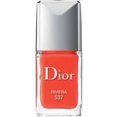 DIOR Vernis nail polish (€23) ❤ liked on Polyvore featuring beauty products, nail care, nail polish and shiny nail polish