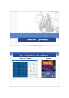 sistema-de-organizaco-8635868 by JumpEducation via Slideshare