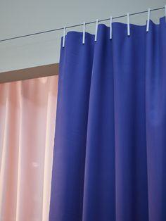 The Ready Made Curtain by Ronan & Erwan Bouroullec for Kvadrat. http://decdesignecasa.blogspot.it