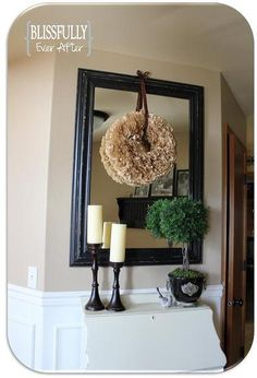see wreaths for tutorial on coffee filter wreath