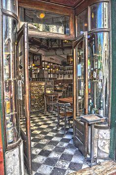 #Bar Plaza Dorrego - #HDR #santelmo