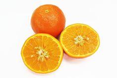 「セミノール」  ダンカングレープフルーツ×ダンシータンジェリンを掛け合わせてアメリカで誕生した品種です。 「サンクイーン」や「紅小夏」と呼ばれることもあります。 濃いオレンジ色で表面はつるつるしていて、大きめのみかんのような外観です。 ジョウノウが薄く果汁は多く、カットすると溢れ出るほどジューシです。 甘味・酸味とも濃厚な味わいです。 ゼリーやお菓子の食材にもおすすめです。