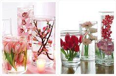 How to preserve flowers in glycerine, gelatine+sugar or  salt.