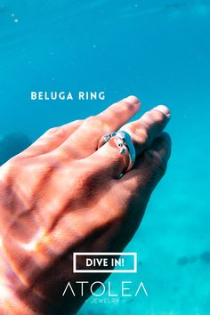 When the Beluga Whale makes an appearance in your life, it is reminding you that your best friend is yourself. In other words, the beluga whale spirit is asking you to be kind to yourself and embrace yourself as you are. Wear these everyday, in and out of the sea.