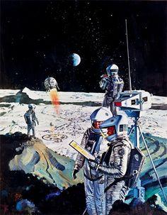 A Space Odyssey poster, US International Cinerama Unframed x 39 in. x 99 cm) Stanley Kubrick's landmark science fiction film Arte Sci Fi, Diesel Punk, Sci Fi Kunst, Science Fiction Kunst, 2001 A Space Odyssey, 70s Sci Fi Art, Classic Sci Fi, Online Posters, Retro Futuristic