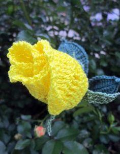 Crochet Rose Pattern                                                                                                                                                      More