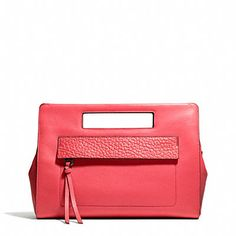 312dc8e363 Coach Bleecker Pocket Clutch In Leather from Coach Site - Styhunt
