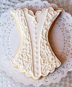 Lacy Lingerie Cookie