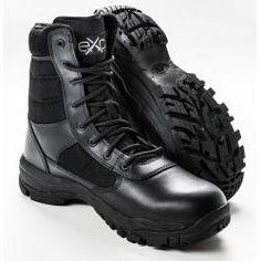 EXC Trooper Black profesionální vojenská a policejní obuv Combat Boots, Army, Shoes, Black, Fashion, Gi Joe, Moda, Zapatos, Military