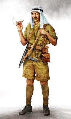LRDG Captain by ~anderpeich on deviantART