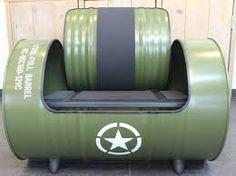 Afbeeldingsresultaat voor meubels van olievat
