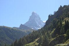 Matterhorn in der Schweiz