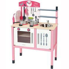 Janod - Mademoiselle cocina maxi de juguete (08506533): Amazon.es: Juguetes y juegos 53,82