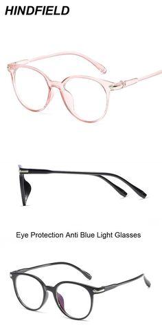 cebaef01050 Korean fashion clear glasses frame anti blue light glasses women fake glasses  pink optical eyeglasses frame transparent oculos  eyewear  accessories   frames ...