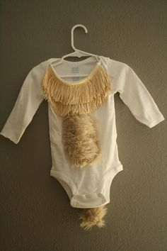 Halloween Costume, Lion Costume, Newborn Halloween Costume, Lion Onesie, Baby Lion Costume, Baby Halloween Costume. $25.00, via Etsy.