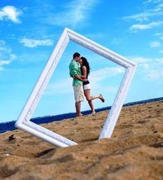 Resultado de imagem para ideias de fotos criativas na praia