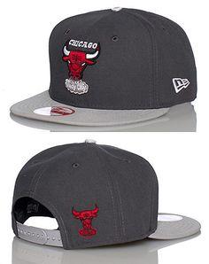 NEW ERA Chicago Bulls NBA snapback cap Adjustable strap on back of hat for ultimate comfort Embroidered team logo on front