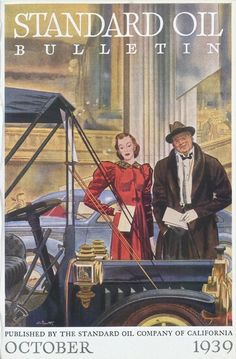 Standard Oil Bulletin October 1936 – Recherche Google Standard Oil, October, Google, Painting, Painting Art, Paintings, Painted Canvas, Drawings