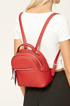 Faux Leather Backpack Fashion leather articles at 60 % wholesale discount prices Stylish Backpacks, Cute Backpacks, Faux Leather Backpack, Leather Bag, Fashion Bags, Fashion Backpack, Mini Mochila, Garment Bags, Girls Bags