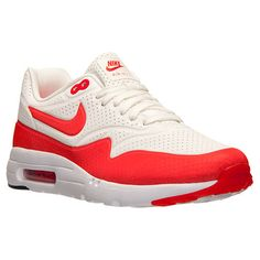on sale 90aa2 c9ffa Official NIke Air Max 1 Ultra Moire Summit White Challenge Red White 705297  106 Nike Air