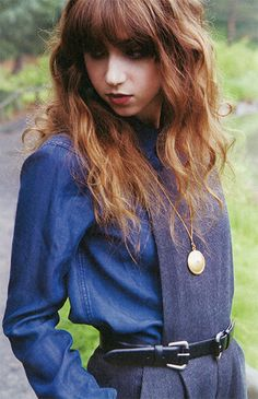 Zoe Kazan - like her hair here