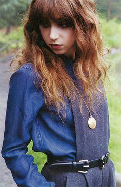 Zoe Kazan - like her hair here