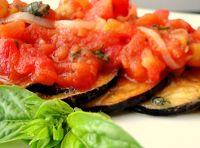 Berinjelas Grelhadas com Molho de Tomate (vegana)