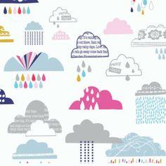Rain or Shine - Dashwood Studio - Clouds £3 http://www.thehomemakery.co.uk/fabric/rain-or-shine-dashwood-studio-clouds