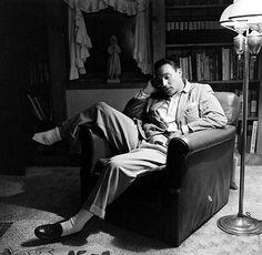 Gene Kelly napping.